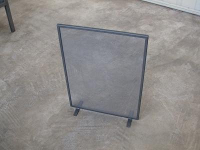 Enkelvoudig haardscherm